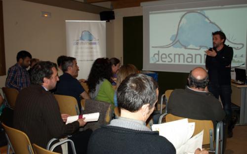 1er Seminario Desmania. Victor Gutierrez, Fundación Biodiversidad