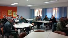 Agentes medioambientales de la Junta de Castilla y León en la jornada formativa